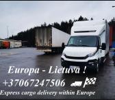 Kroviniu pervezimai,perkraustymai Vokietija/Belgija/Olandija/Lenkija - Lietuva laisvi tentiniai mikroautobusai +37067247506 EKSPRES KROVINIU PERVEZIMAI +37067247506 Ekspres pervežimai +37067247506 Baldų pervežimai LIETUVA/EUROPA/LIETUVA +37067247506 PERKR-0