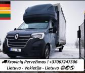 29d./30d./31d. Iš Vokietijos į Lietuvą Lietuva - VOKIETIJA - Lietuva ! Galime parvežti jūsų krovinius, baldus, buitine technika, motociklus, kubilus, pirtis, įrengimus, medžiagas ir t.t.   EL.PAŠTAS: info@voris.lt SKYPE: voris.uab TEL.NR.: +37067247506 Vi-0