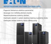 Nepertraukiamo maitinimo šaltiniai (UPS)/ Asistemos-0