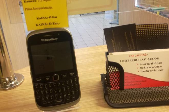 Mobilusis telefonas Blackberry Curve 9320-0