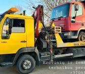 Krovinių pervežimas, techninė pagalba-0