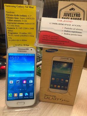"Mobilusis telefonas ""Samsung Galaxy S4 Mini""-1"