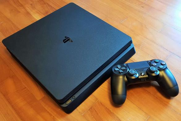 Sony Playstation 4 slim, ps4, tvarkingas, komplektas, kaina 200e.-0