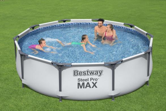 Baseinas Bestway Steel Pro Max 305x76cm-0