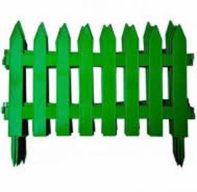 Dekoratyvinės plastikinės tvorelės-1