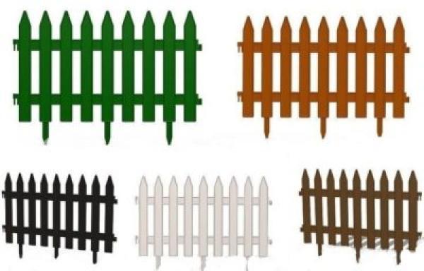 Dekoratyvinės plastikinės tvorelės-2
