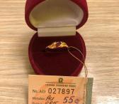 Auksinis žiedas 1,11g-0