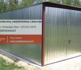 Nauji - kokybiški metaliniai garažai, visa Lietuva.-0