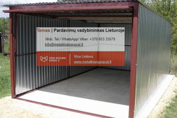 Nauji - kokybiški metaliniai garažai, visa Lietuva.-2