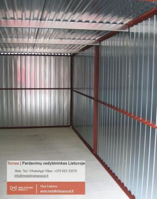 Nauji - kokybiški metaliniai garažai, visa Lietuva.-4