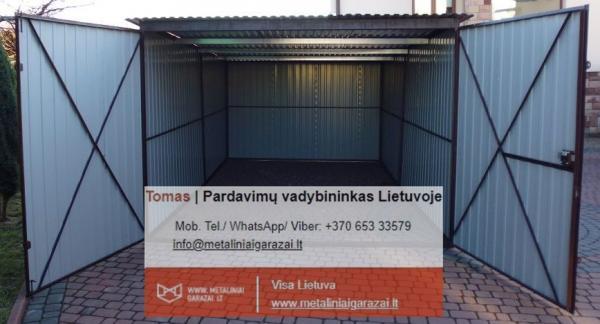 Nauji - kokybiški metaliniai garažai, visa Lietuva.-5