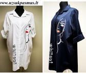 Tunika-marškinukai apkūnioms damoms-0