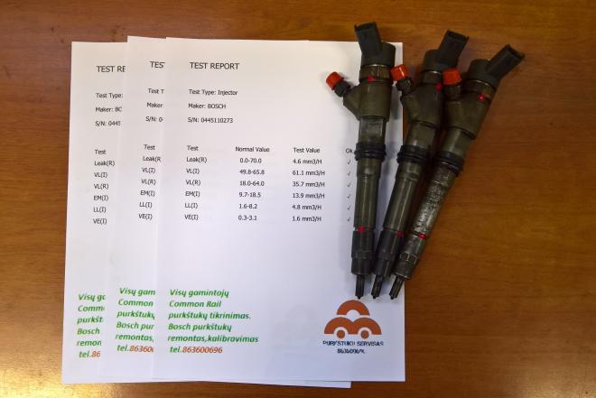 Kuro purkštukai Fiat-Ducato 2.3d.0445110273-0
