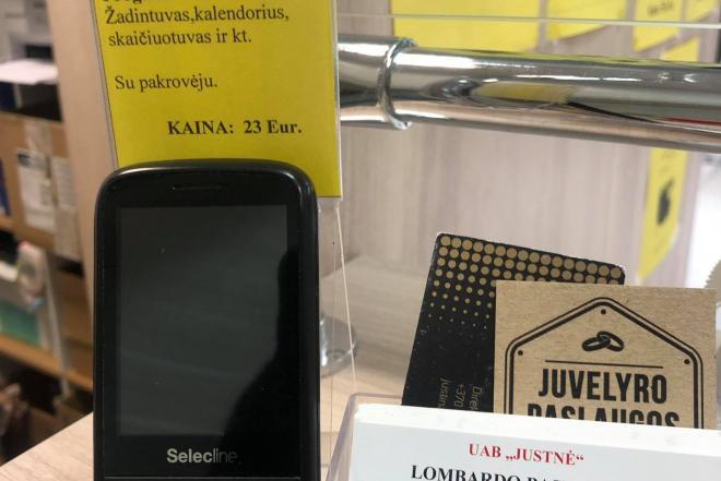 """Mobilusis telefonas """"Selecline""""-0"""