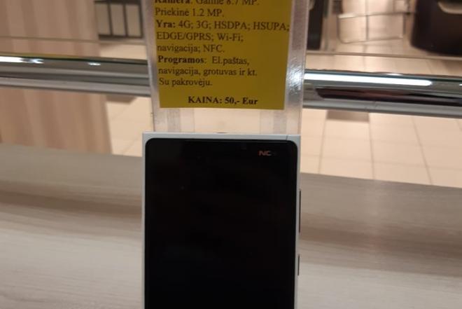 """Mobilusis telefonas """" Nokia Lumia 920""""-0"""