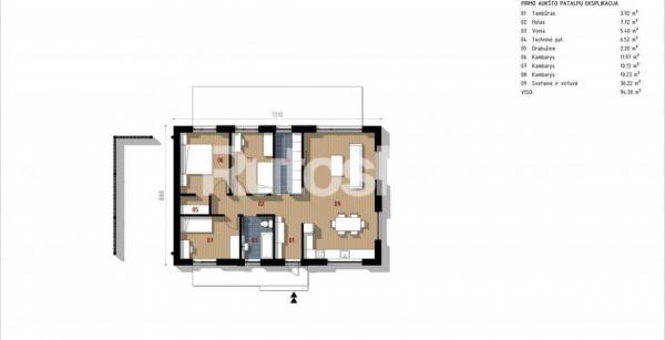 Parduodamas namas Radailiuose-4