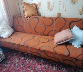 Išskleidžiama sofa lova, tvarkinga su patalynės dėže, tvarkinga, nesenai pirkta nauja mažai naudota. 50e.-0