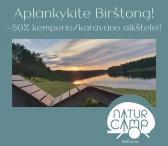 -50% NUOLAIDA kemperio / karavano aikštelei Natur Camp kempinge BIRŠTONE!-0