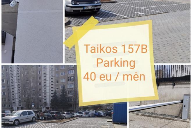 Parkavimo Vieta Justiniskese nuoma-0