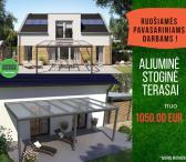 Aliuminio stoginė terasai tik nuo 1050 Eur-0