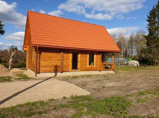 Naujos statybos rąstų namas sodyba Piliuonoje-4