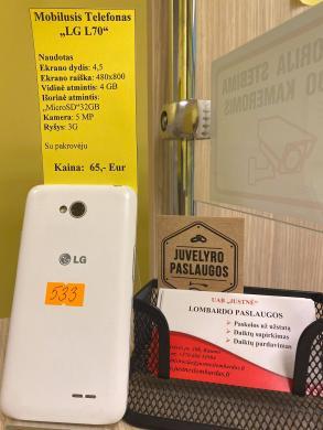 Mobilusis telefonas LG L70-1