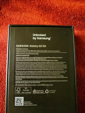 "atrakinta nauja ""Samsung Galaxy S21- S21 Ultra 5G -128GB""-0"