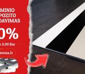 Aliuminio kompozitas tik nuo 2,00 Eur/vnt-0