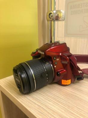 """Fotoaparatas """"Nikon D3300"""" +18-55 mm AF-P VR-0"""
