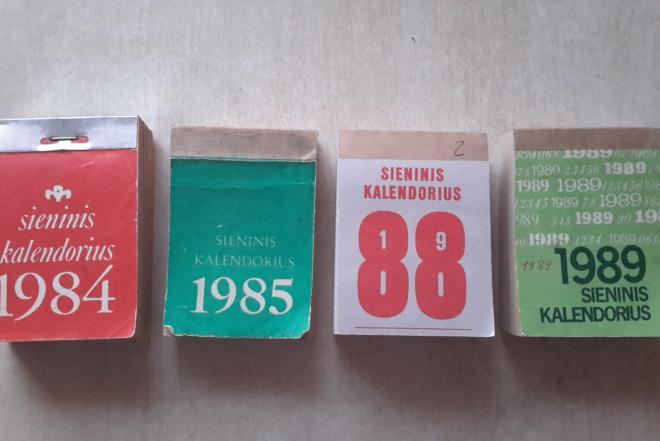 Superku senus sieninius plesomus kalendorius 1935-1970 metu-0