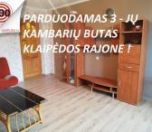 Parduodamas 3 - jų kambarių butas butas Klaipėdos rajone .-0