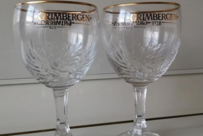 Parduodu, Belgiškas, nuostabaus grožio, 0,5 ltr.  ''GRIMBERGEN'',  firmines alaus taures-0