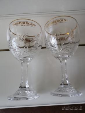 Parduodu, Belgiškas, nuostabaus grožio, 0,5 ltr.  ''GRIMBERGEN'',  firmines alaus taures-4
