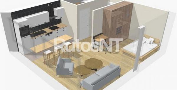 Parduodamas 2-jų kambarių butas bendrabutyje, Taikos prospekte-0