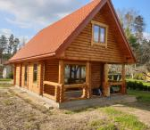 sodyba su naujos statybos ekologišku rąstiniu namu 2021 metų-0