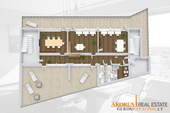 gerospatalpos.lt - mansardinės patalpos su 2 didelėmis terasomis-2