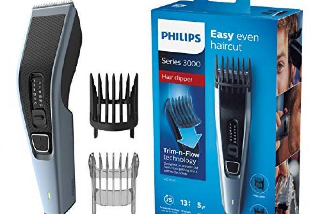 Philips belaide plaukų, barzdos kirpimo mašinėlė.-0