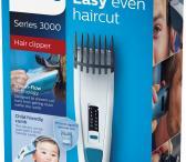 Philips belaide plaukų, ir vaikams tinkanti kirpimo mašinėlė.-0