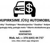 Ieskome pirkti automobilius, siulo bendrai sutarta draugiska kaina-0
