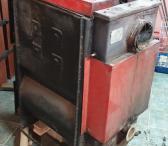 Parduodamas naudotas dujų generacijos kieto kuro katilas 25-30kW su elektroniniu valdymu-0