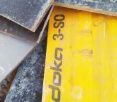 Medinis klijuotos plokštės paklotas 0,5m*2m DOKA 3-SO-0