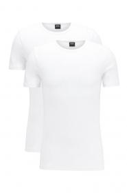 T-Shirt RN 2P CO/EL 10194356 0