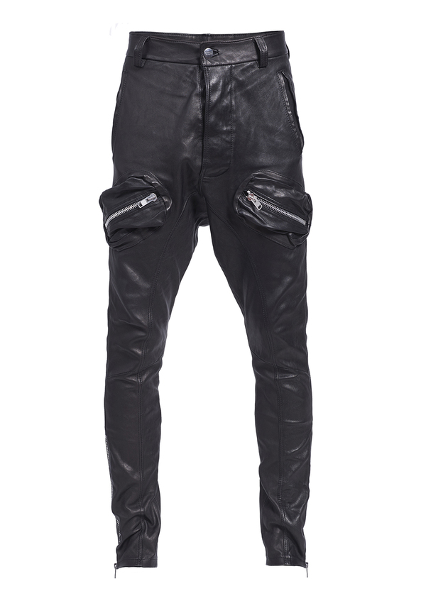 FOREVER LEATHER BOY trousers