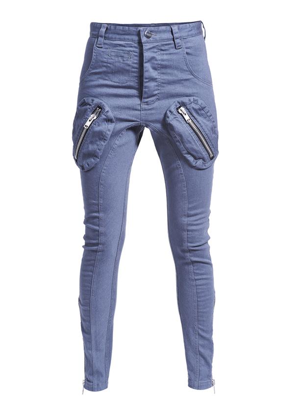 spodnie FOREVER UNITED JEANS ZIPS