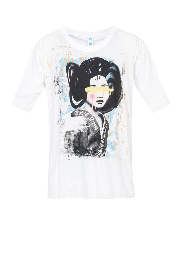 t-shirt ORIENT SIGNATURE GEISHA