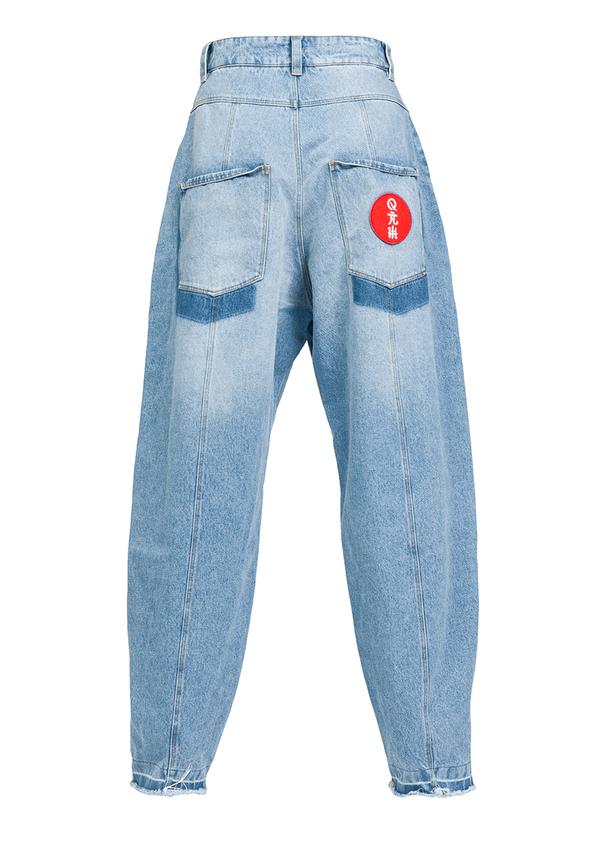 ORIENT RISING SUN JEANS trousers