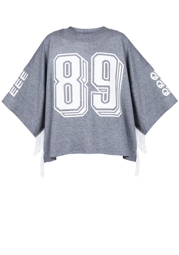 t-shirt KIDS 89 FRINGE SHORT