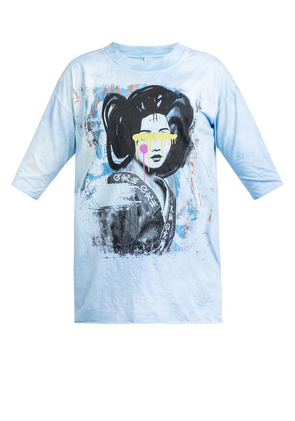 t-shirt KIDS GEISHA