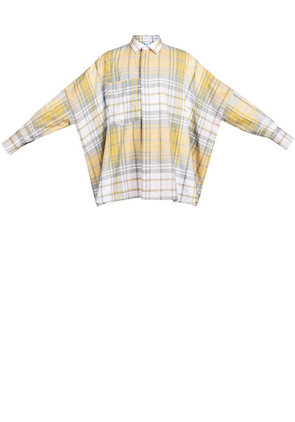 ROOTS SYMMETRIC FLANNEL shirt