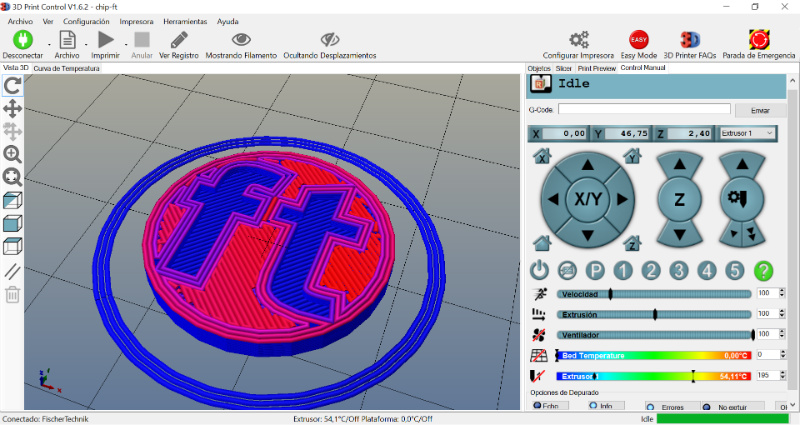 Software 3D Print Control fischertechnik